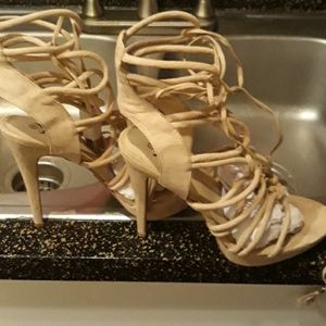Make an offer. Must sell today! Size 10 Heels